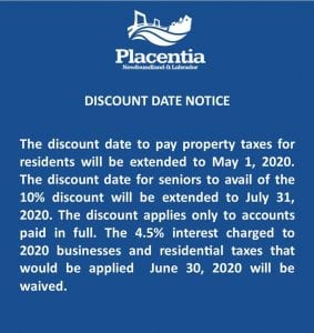 Discount Date Adjustment